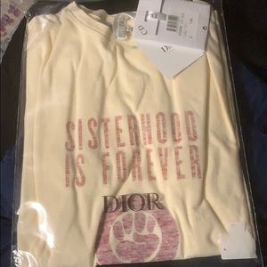 Women's size small Christian Dior T-shirt